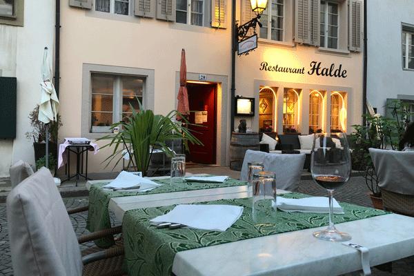 Restaurant Halde Support Your Aarau