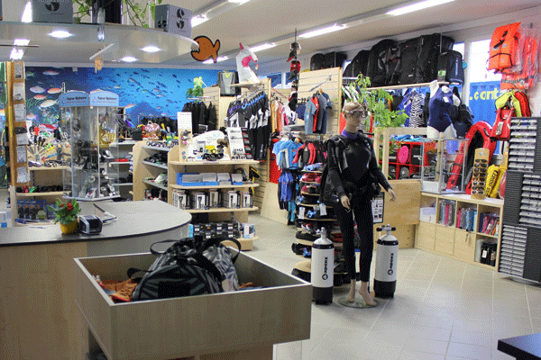 Scuba Shop Support Your Aarau