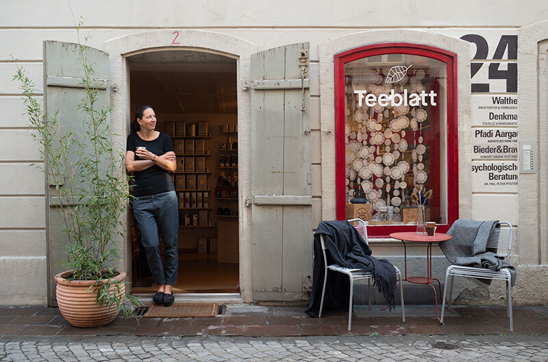 Teeblatt Support Your Aarau